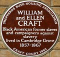 Image for William and Ellen Craft - Cambridge Grove, London, UK