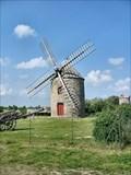 Image for Windmill in Cherrueix, Bretagne, France.
