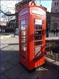 Image for Red Telephone Box - Albert Embankment, London, UK