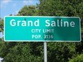Image for Grand Saline, TX - Population 3136
