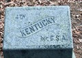 Image for 4th Kentucky Infantry Regiment (CSA) Marker - Chickamauga National Military Park