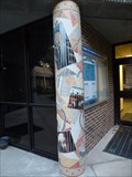 Image for Honors Hall Mosaic Column #3 - Jacksonville, FL