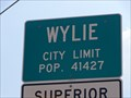 Image for Wylie, TX - Population 41427