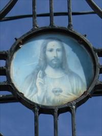 Médaillon du Sacré Cœur de Jésus l
