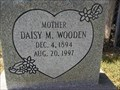 Image for 102 - Daisy M. Wooden - Purdy, MO USA