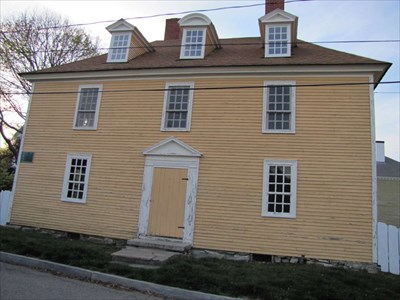 Tobias Lear House Portsmouth New Hampshire Pre