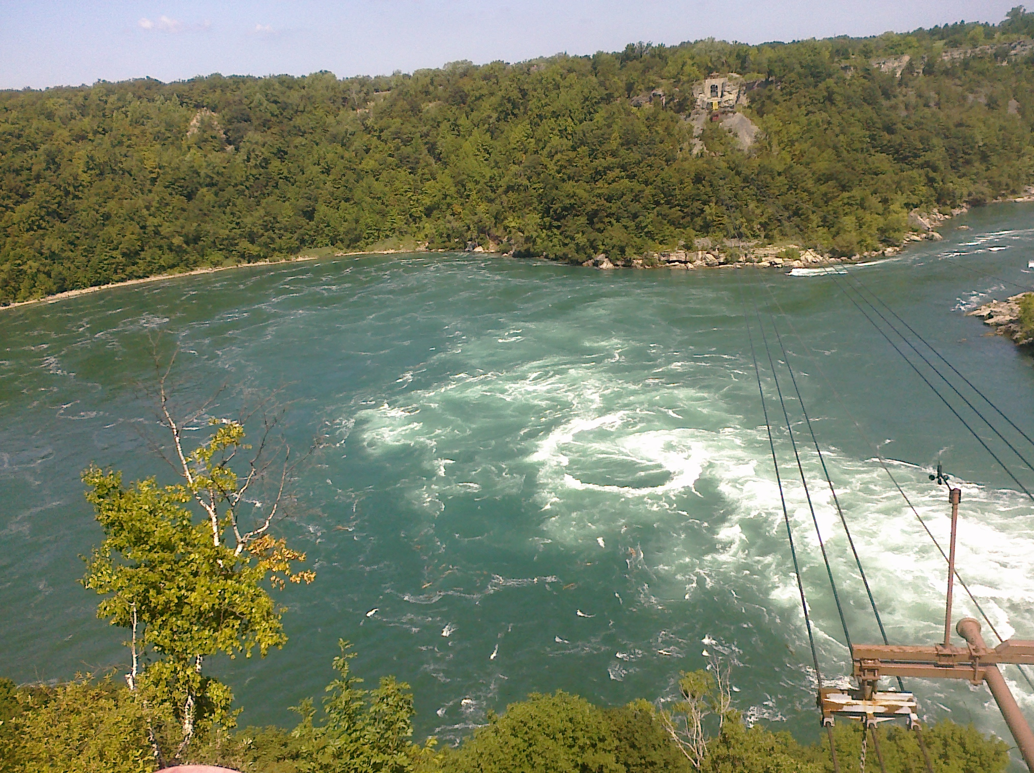 Niagara Whirlpool - north of N...