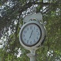 Image for Moseley Park Clock - Eustace, TX
