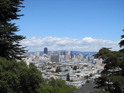 Downtown View, Buena Vista Park, San Francisco, CA