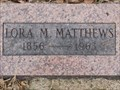 Image for 106 - Lora M. Matthews - Summit View Cemetery - Guthrie, OK