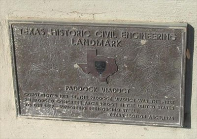 Texas Civil Engineering Historic Landmark