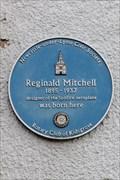 Image for Reginald Mitchell: Butt Lane, Stoke-on-Trent, Staffordshire.