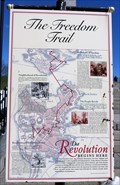 Image for The Freedom Trail - Historic Marker - Boston, Massachusetts, USA.
