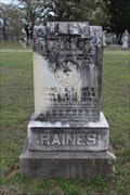Image for James C. Raines - Dixie Cemetery - Stephens County, OK