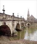 Image for English Bridge - Arched Viaduct - Shrewsbury, Shropshire, UK