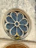 Image for Rosace de la Collégiale Notre-Dame - Montréal (Yonne), France