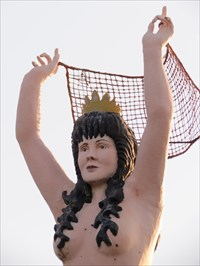 Mermaid, Upper Torso, Mounds View, Minnesota