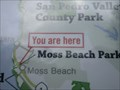 "Image for Moss Beach Park ""You are here"" - Moss Beach, CA"