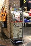 Image for Souvenir Münze / Penny souvenir in Hundertwasser Village - Wien, Austria