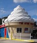 Image for Giant Ice Cream - Satellite Oddity - Clermont, Florida, USA.