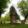 Image for Sousoší Nejsvetejší Trojice / Sculpture of the Holy Trinity, Smecno, Czechia