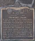 Image for Fremont Park ~ 393