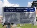 Image for San Gabriel  Cemetery - Richmond, TX