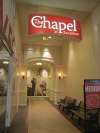 The Chapel At Excalibur Las Vegas Nv Wedding Chapels On Waymarking