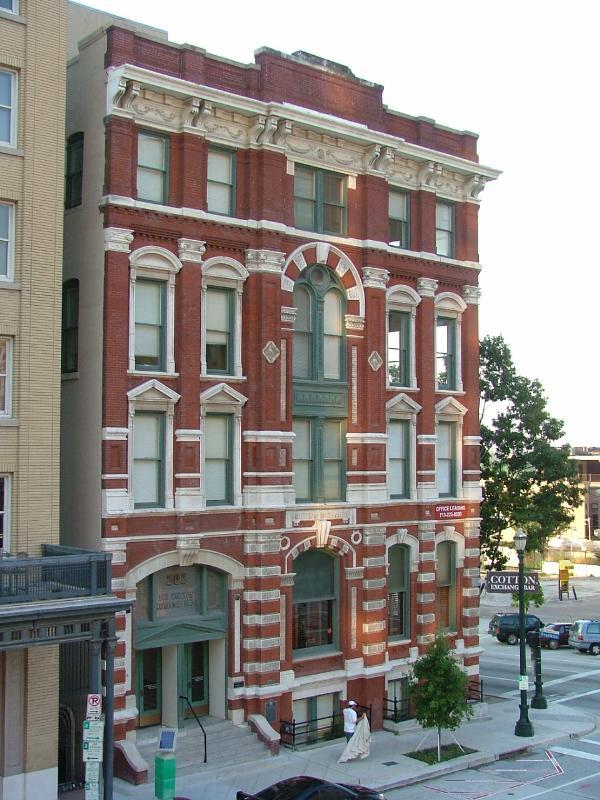 1884 Houston Cotton Exchange Building - Houston, Texas - U ...