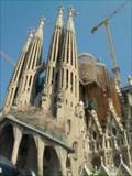 Image for Sagrada Familia, Bell Towers, Barcelona, Spain.