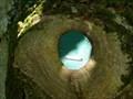 Image for Round Green Fairy Door - Portpatrick, Scotland, UK
