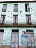 Image for Mural andoriñas - Os Peares, A Peroxa, Ourense, Galicia, España