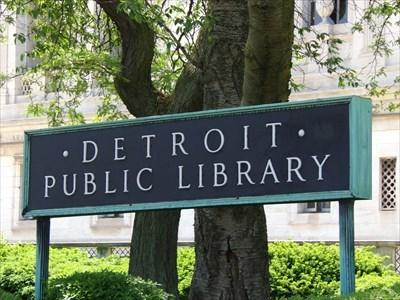 Lord Abercrombie visited Detroit Public Library - Detroit, MI