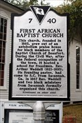 Image for 7-40 First African Baptist Church