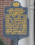 Image for Gay Rights Demonstrations - Philadelphia, PA