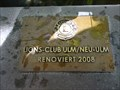 Image for Lions Club Marker - Neptunbrunnen - Ulm, Germany, BW