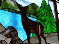 Image for Joe & Aggies Café - Stained Glass - Holbrook, Arizona, USA