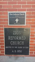 Image for 1950 - Zion Reformed Church - Lodi, CA