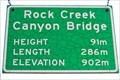 Image for Rock Creek Canyon Bridge South - 902 Metres - Rock Creek, BC