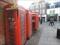 Image for Red Telephone Boxes - Little Park Gardens, Enfield, London, UK