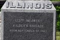 Image for 123rd Illinois Infantry Monument - Chickamauga National Military Park