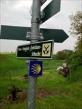 Image for Wegmarkierung - Kesselsdorf, Lk. Sächs. Schweiz-Osterzgebirge, Sachsen, D