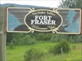 Image for Fort Fraser, British Columbia, Welcome Sign