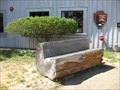 Image for Carved Bench - Bear Valley Visitors Center - Olema, CA