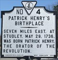 Image for Patrick Henry's Birthplace