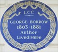 Image for George Borrow - Hereford Square, London, UK