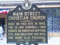 Image for Main Street Christian Church - Lexington, Kentucky