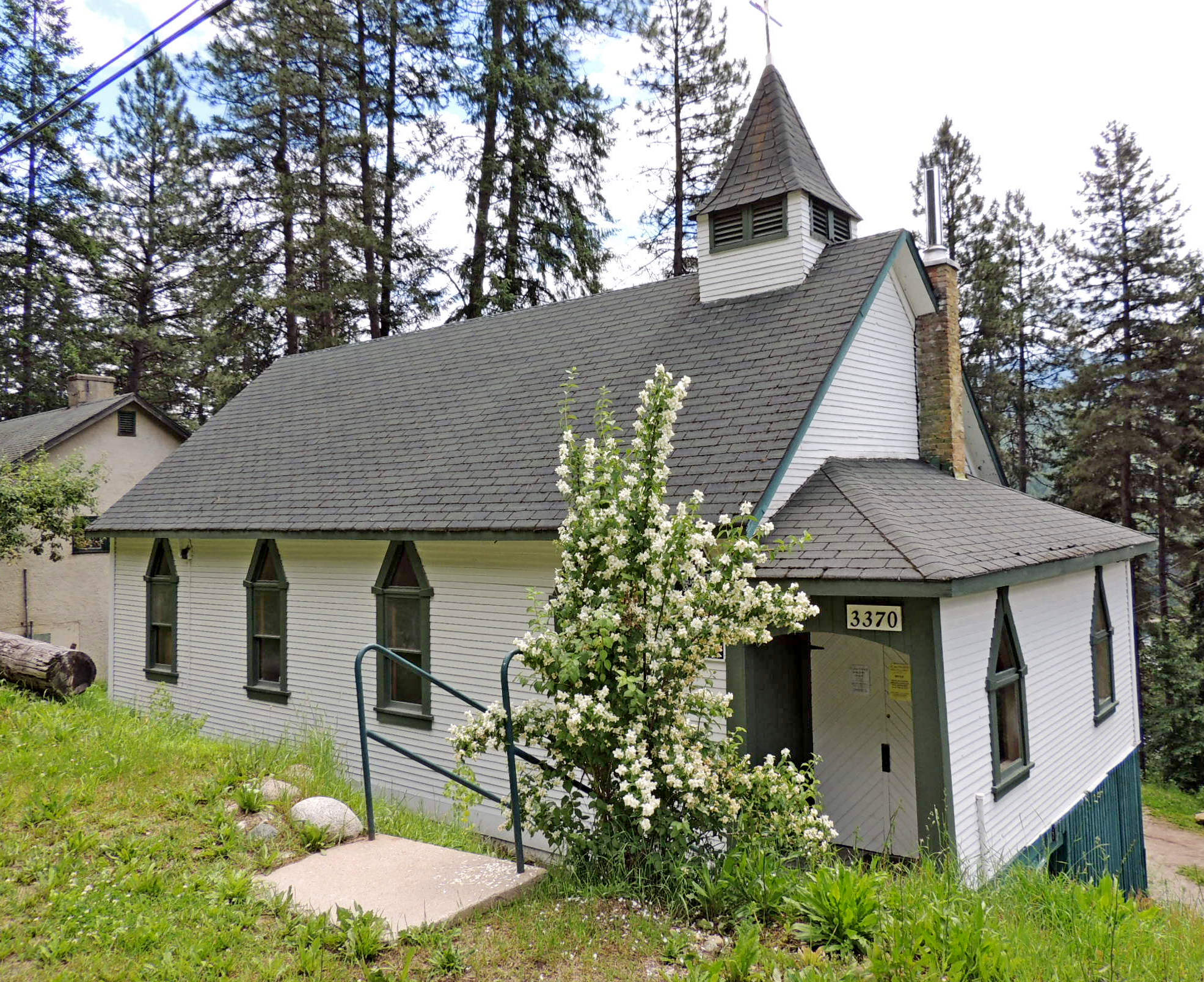 St. Matthew's Anglican Church, South Slocan, BC Photo