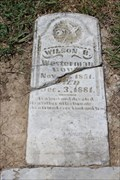 Image for FIRST Recorded Burial in Fairview Cemetery - Hagansport, TX