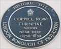 Image for Coppice Row Turnpike - Farringdon Road, London, UK